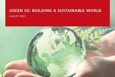 Analysys Mason and Huawei Release Green 5G
